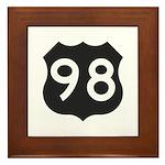 Hwy 98 Framed Tile