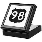 Hwy 98 Keepsake Box
