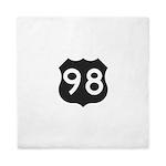 Hwy 98 Queen Duvet