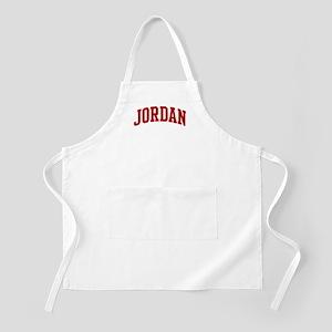 JORDAN (red) BBQ Apron