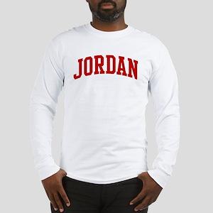 JORDAN (red) Long Sleeve T-Shirt