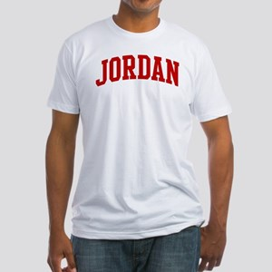 JORDAN (red) Fitted T-Shirt