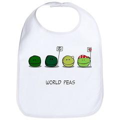 World Peas Bib