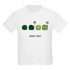 World Peas Kids T-Shirt