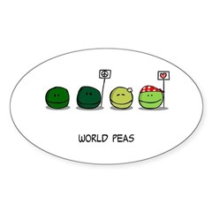 World Peas Decal