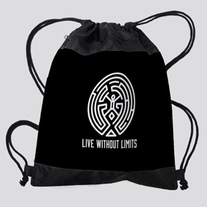 Westworld Live Without Limits Drawstring Bag