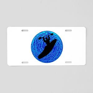 KAYAK SOULFUL Aluminum License Plate