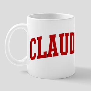 CLAUDIA (red) Mug