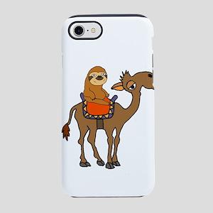 Cute Sloth Riding Camel iPhone 8/7 Tough Case
