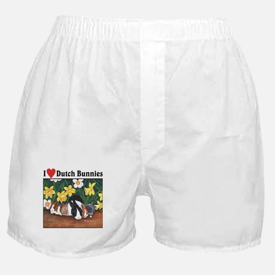 I love Dutch Bunnies Boxer Shorts