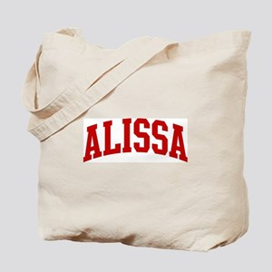 ALISSA (red) Tote Bag