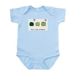Peas Lovin' Happiness Infant Creeper