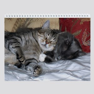 Cat Luv Wall Calendar