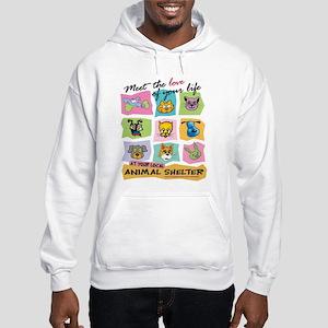 Meet The Love Of Your Life Hooded Sweatshirt