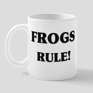 Frogs Rule Mug