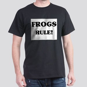 Frogs Rule Dark T-Shirt