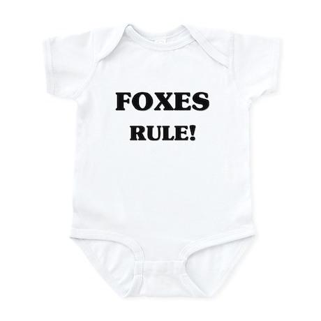 Foxes Rule Infant Bodysuit