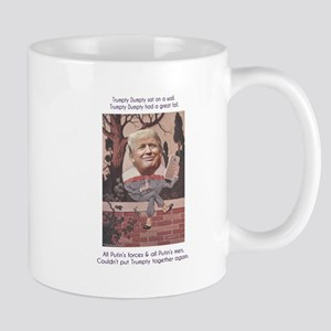 Trumpty Dumpty Sat on a Wall Mugs