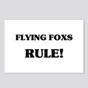 Flying Foxs Rule Postcards (Package of 8)