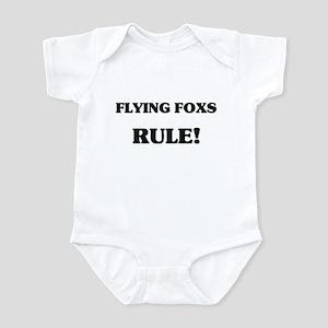 Flying Foxs Rule Infant Bodysuit