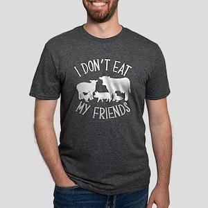 I Don't Eat My Friends Mens Tri-blend T-Shirt