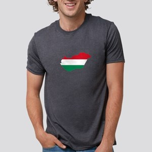 Hungary Country with Hungarian Flag T-Shirt