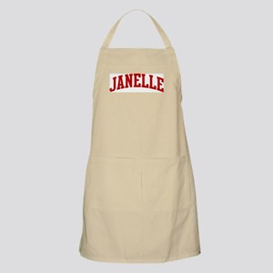 JANELLE (red) BBQ Apron