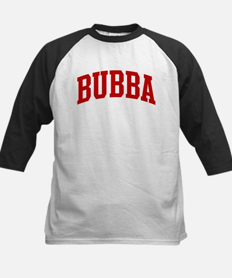 BUBBA (red) Kids Baseball Jersey
