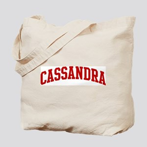 CASSANDRA (red) Tote Bag