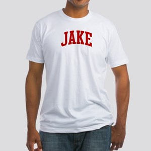 JAKE (red) Fitted T-Shirt