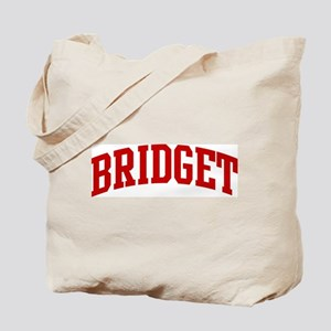 BRIDGET (red) Tote Bag