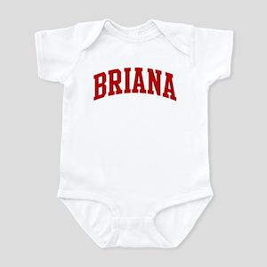 BRIANA (red) Infant Bodysuit