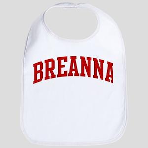 BREANNA (red) Bib
