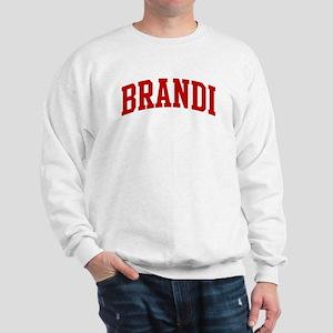 BRANDI (red) Sweatshirt