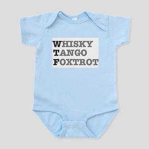WTF - WHISKY,TANGO,FOXTROT! Body Suit
