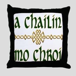 My Darling Girl Throw Pillow