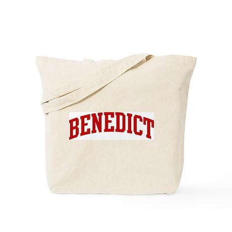 BENEDICT (red) Tote Bag