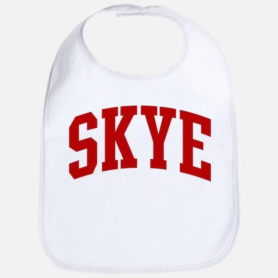 SKYE (red) Bib