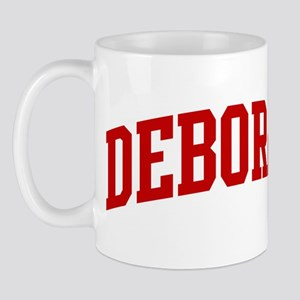 DEBORAH (red) Mug