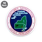 """Conrail Philadelphia Division 3.5"""" Button (10"""