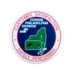 """Conrail Philadelphia Division 3.5"""" Button"""