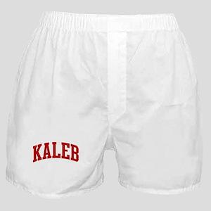 KALEB (red) Boxer Shorts