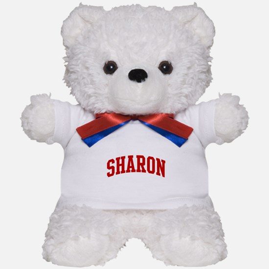SHARON (red) Teddy Bear