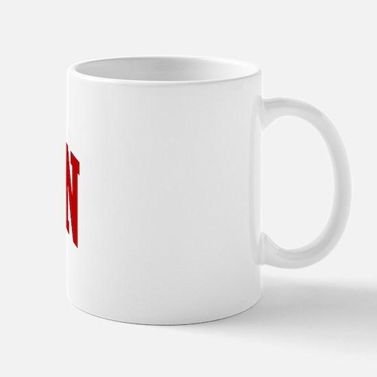 SHARON (red) Mug