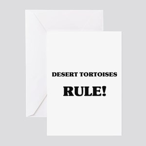 Desert Tortoises Rule Greeting Cards (Pk of 10)