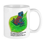 Poison-Dart Frog Mugs