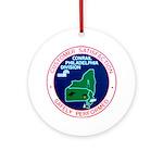 Conrail Philadelphia Division Ornament (Round)