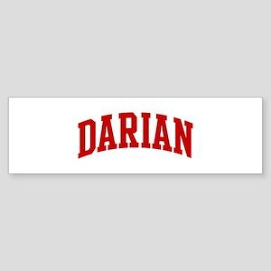 DARIAN (red) Bumper Sticker