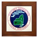 Conrail Philadelphia Division Framed Tile