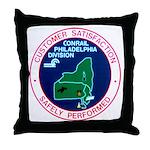 Conrail Philadelphia Division Throw Pillow